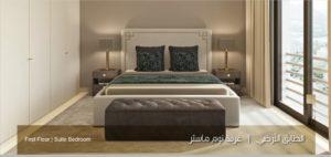 الطابق الارضي غرفة نوم ماستر نموذج بي Uvisne