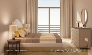 الطابق الارضي غرفة نوم ماستر1 نموذج بي Uvisne