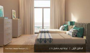 الطابق-الاول-غرف-نوم-ماستر-3-نموذج-بي-بيوت-الملقا