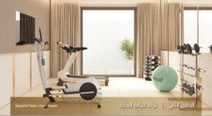 الطابق الثاني غرفة اللياقة البدنية نموذج بي Uvisne