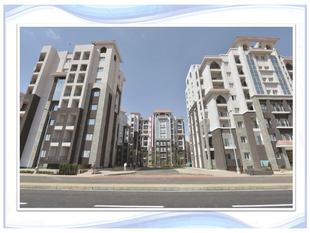 صور العمارات في الحي الثالث R3 في العاصمة الادارية الجديدة