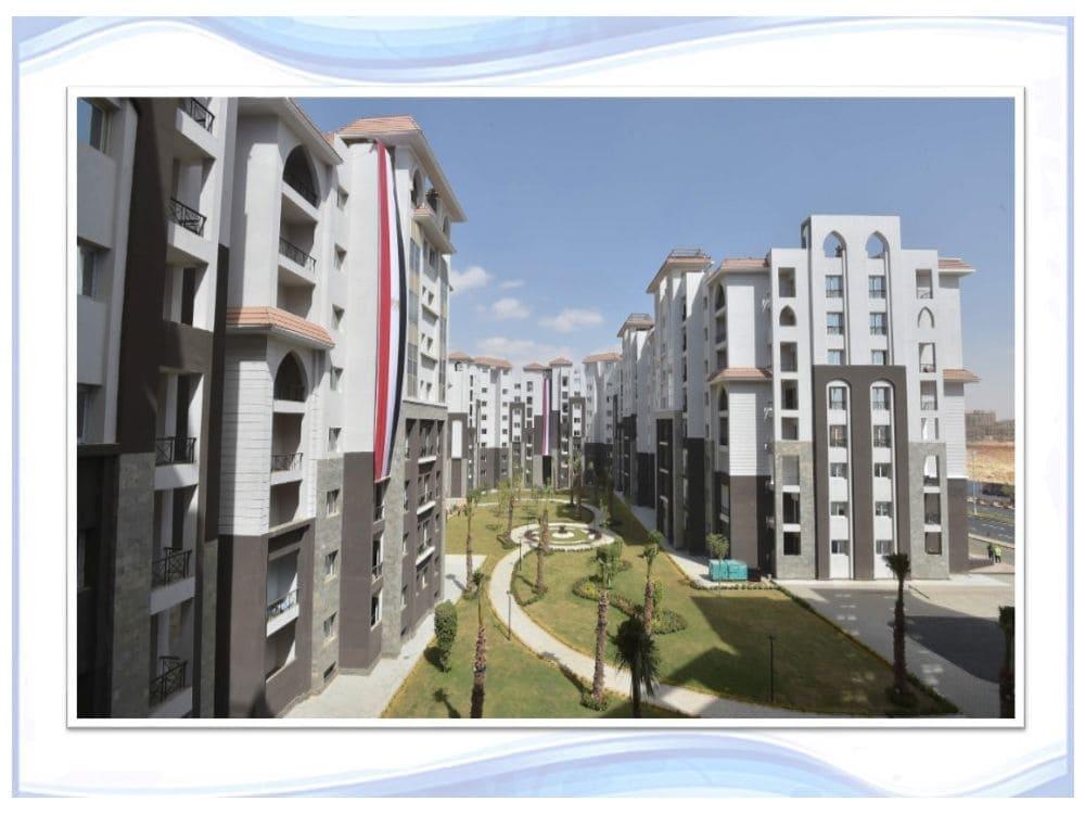 صور من ارض الواقع في الحي الثالث R3 في العاصمة الادارية الجديدة