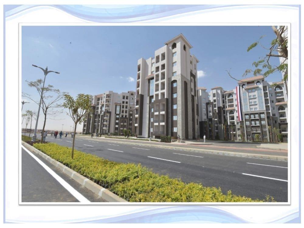 صور من الواقع في الحي الثالث R3 في العاصمة الادارية الجديدة