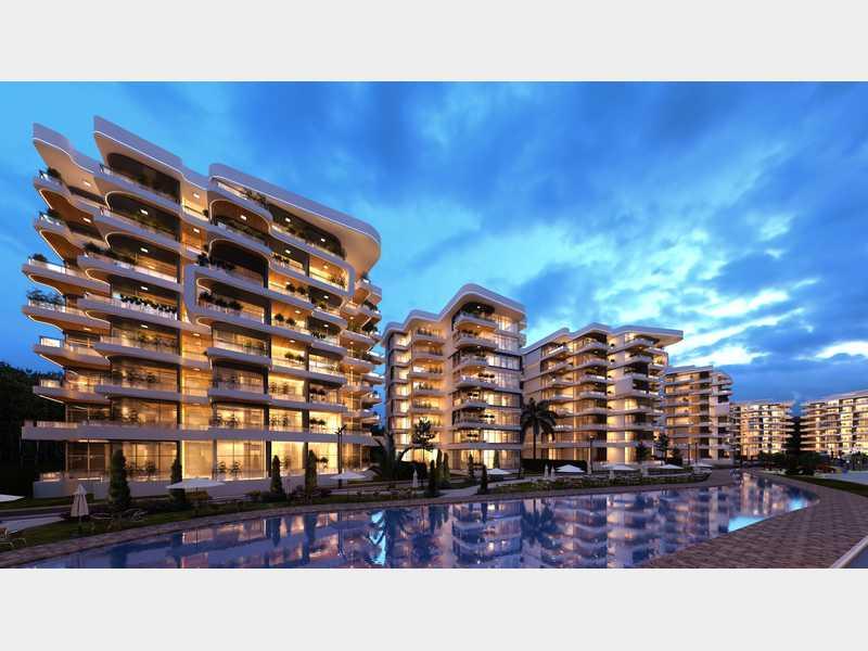 شقة مساحة 135 متر بكمبوند سيرانو العاصمة الادارية السعر يساوي 1215000 جنيه