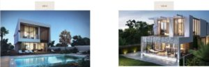 Damac hills Apartments Types Villa