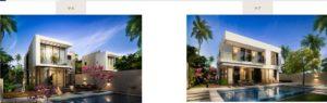 Damac hills Apartments types of villa 3