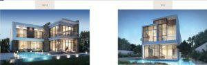 Damac hills Apartments types of villa