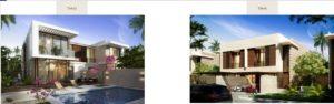 Damac hills Apartments types of villa 4