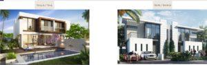 Damac hills Apartments types of villa 5
