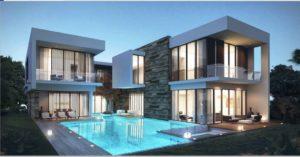 Damac hills Apartments villa design 2