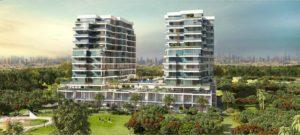 Damac hills Apartments viwe golf