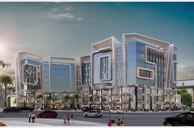 مول انفينتي بزنس بلدنج العاصمة الإدارية  mall infinity business building new-capital