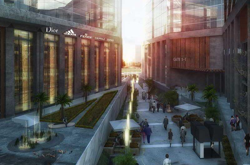 مول ذا ووك العاصمة الادارية شركة كونستركتا