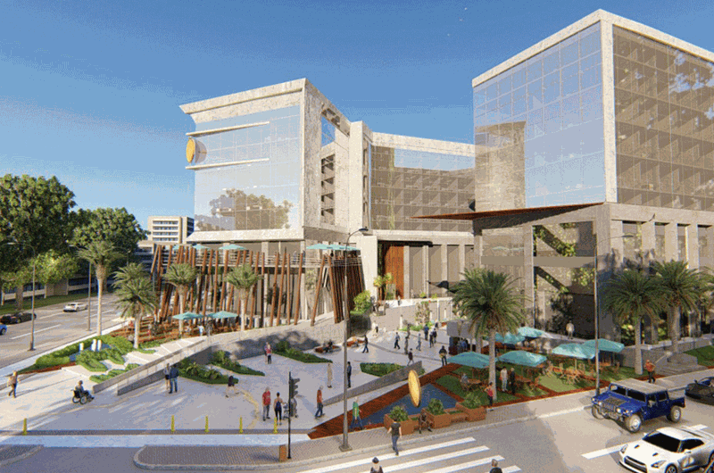 مول ذا ووك العاصمة الادارية  Mall the walk new capital