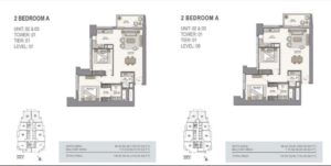 fifty two forty two uvisne Emaar tower unit 02
