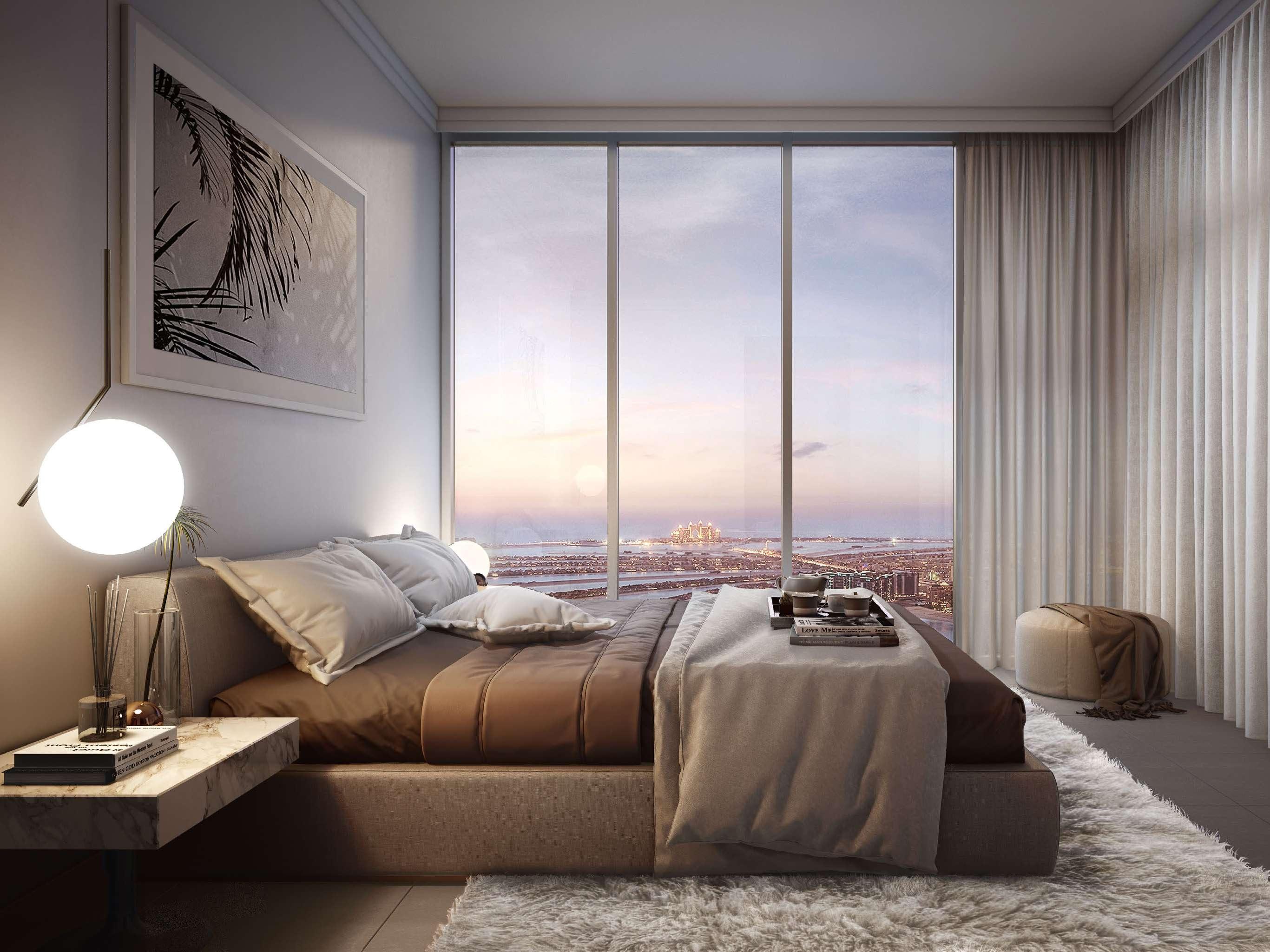 BEACH VISTA AT EMAAR BEACHFRONT bedroom