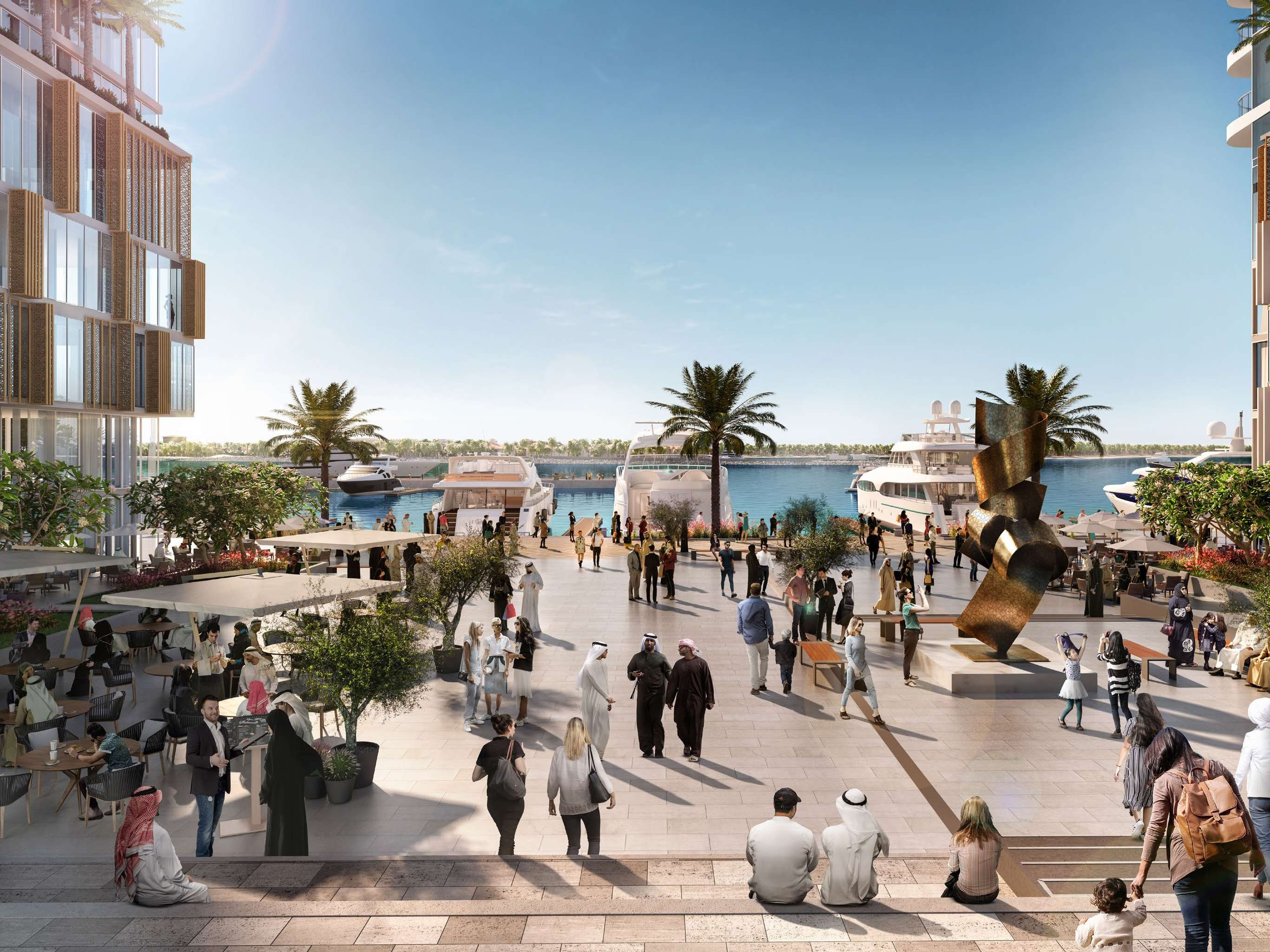 restaurants, and trendy cafes. BEACH VISTA AT EMAAR BEACHFRONT