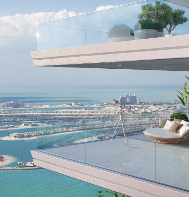 BEACH VISTA AT EMAAR BEACHFRONT living