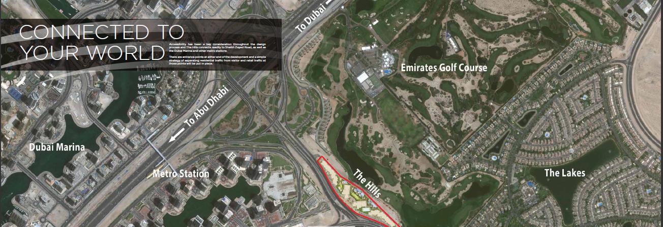 ذا هيلز دبي THE HILLS DESTINATION DUBAI CONNECT WORLD
