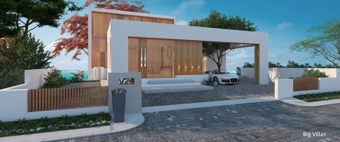1 st ROW VILLA ( TYPE A ) 397 SQM