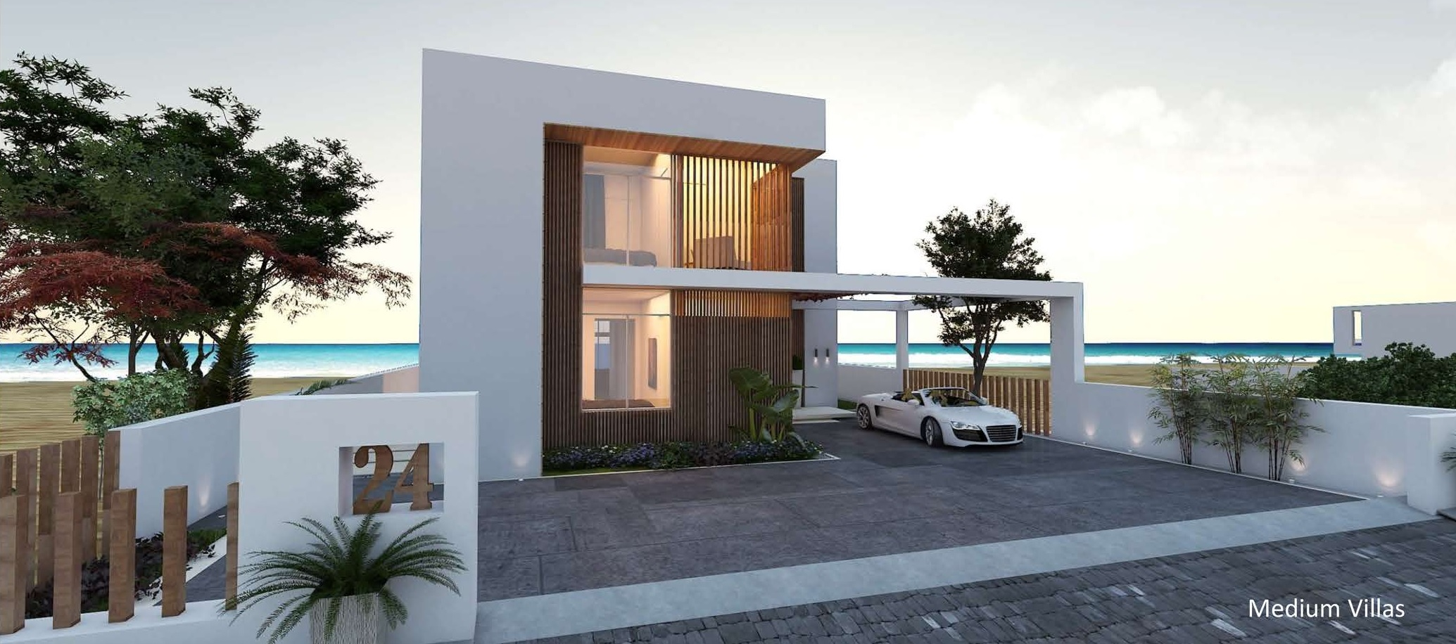 2nd, 3rd, 4th SEA FRONT VILLAS