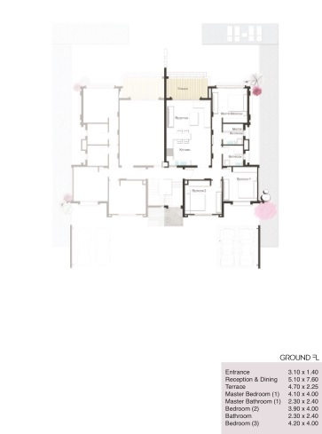 3 BED ROOM 147m