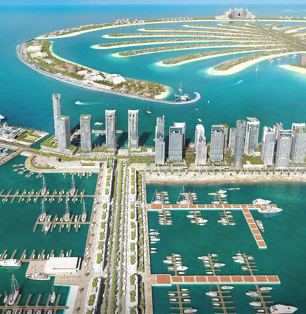 ABOUT EMAAR BEACHFRONT/ Marina Vista at Emaa