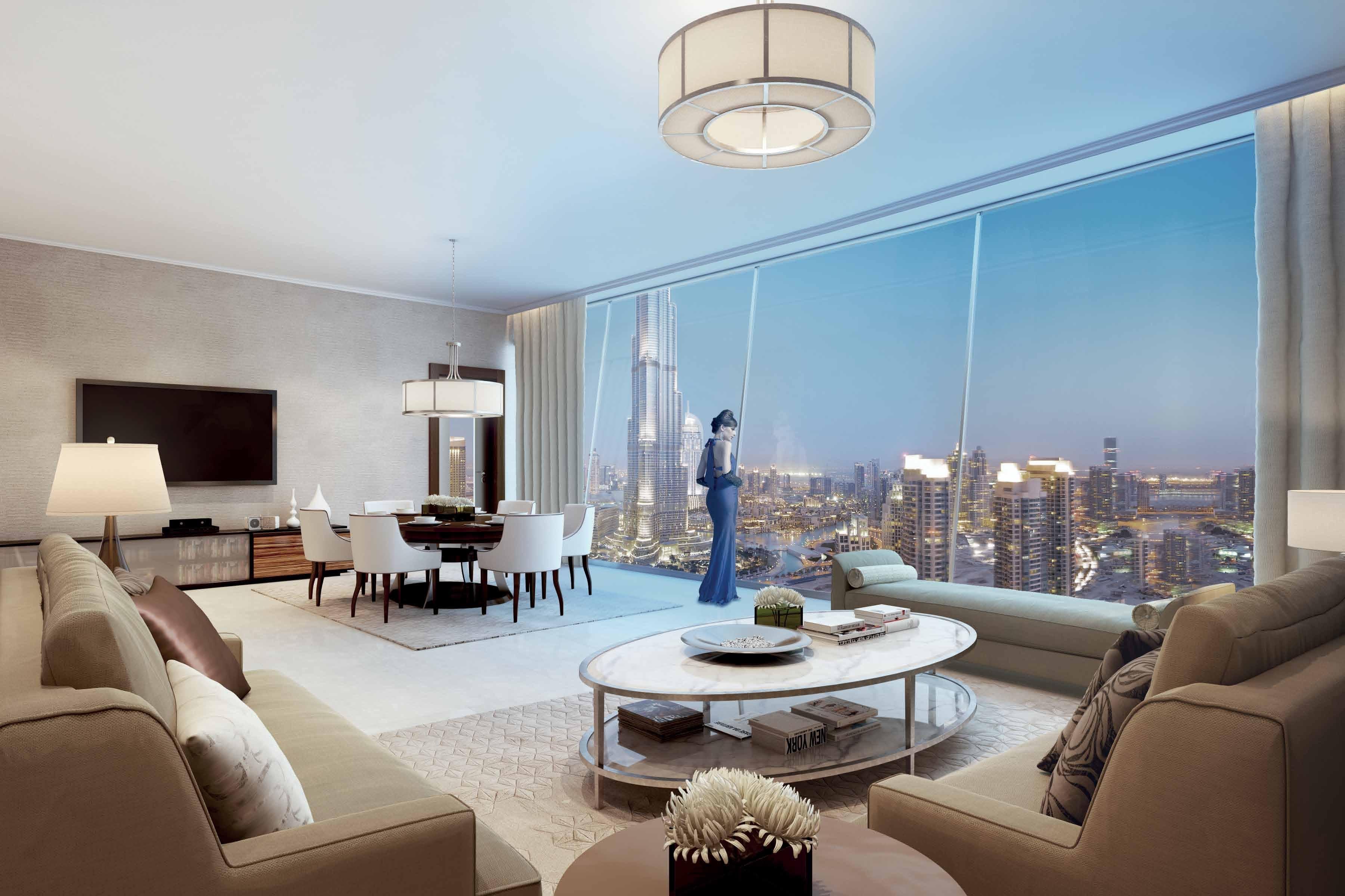 Burj Vista. Life on the Edge