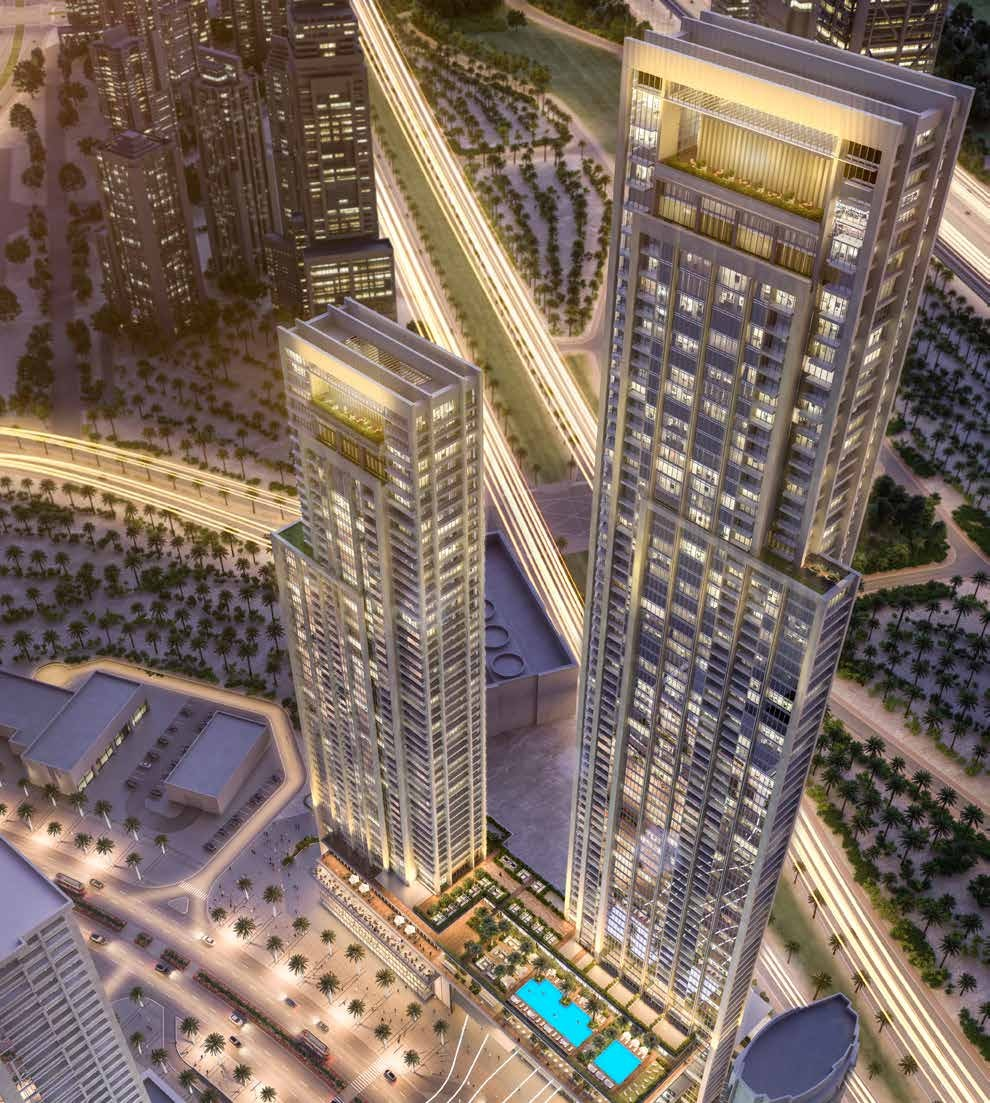 DESIGNED TO PERFECTION/ Apartment FORTE Downtown Dubia/ Emaar proprties