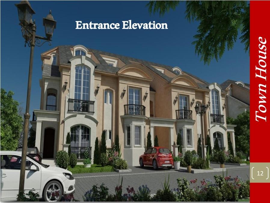 Entrance Elevation