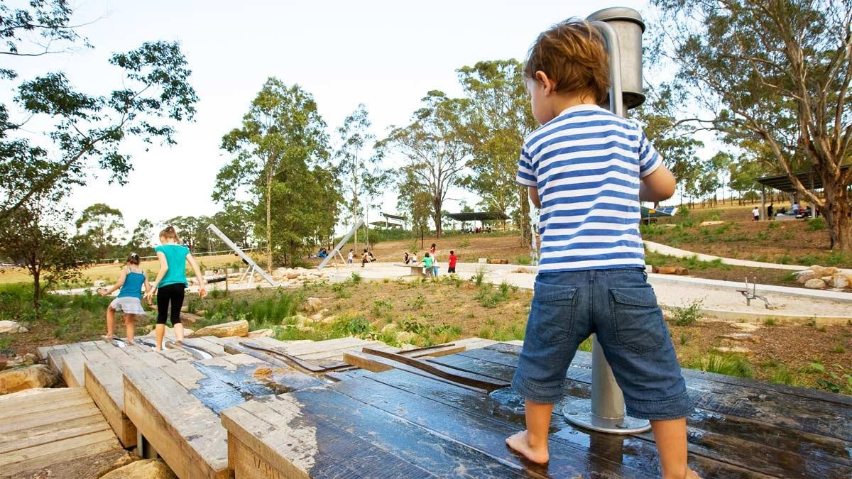 Integrated playground