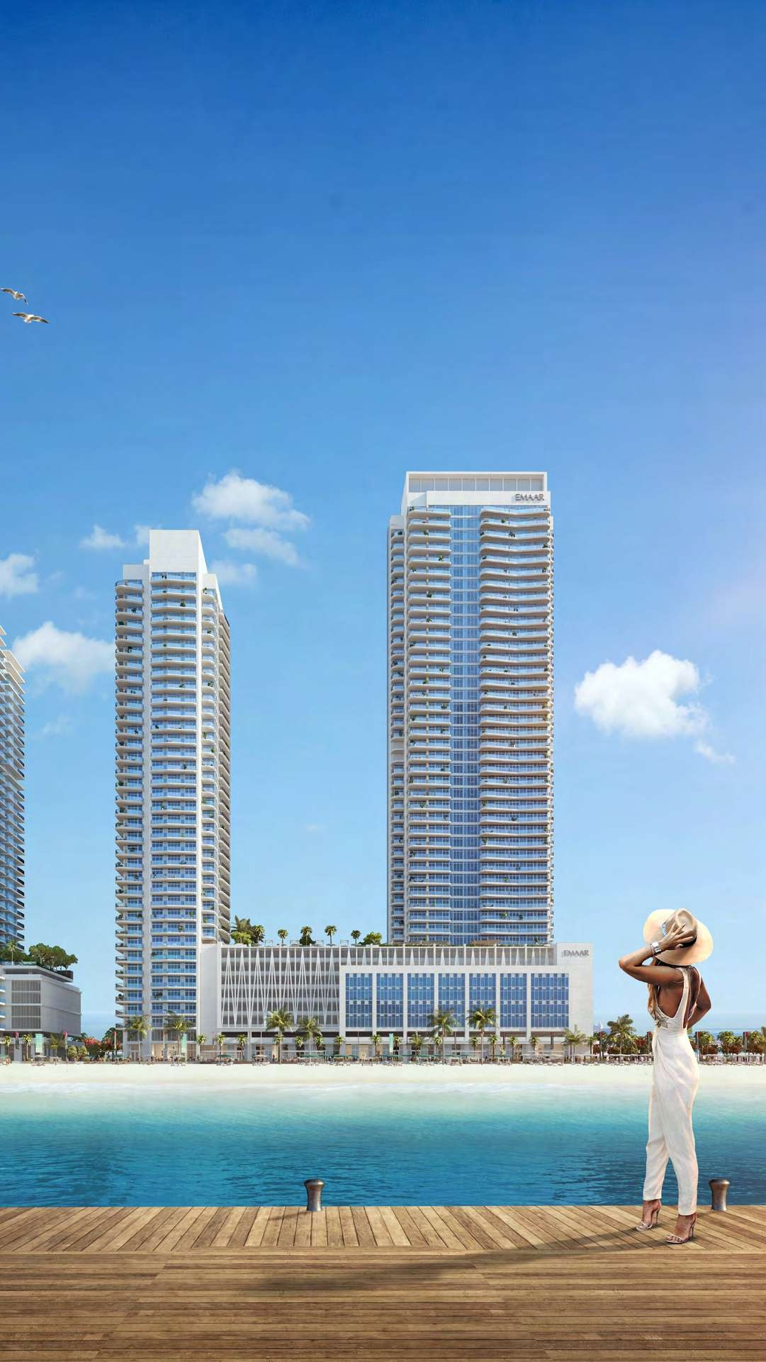 MIAMI STYLE LIVING /Marina Vista at Emaa