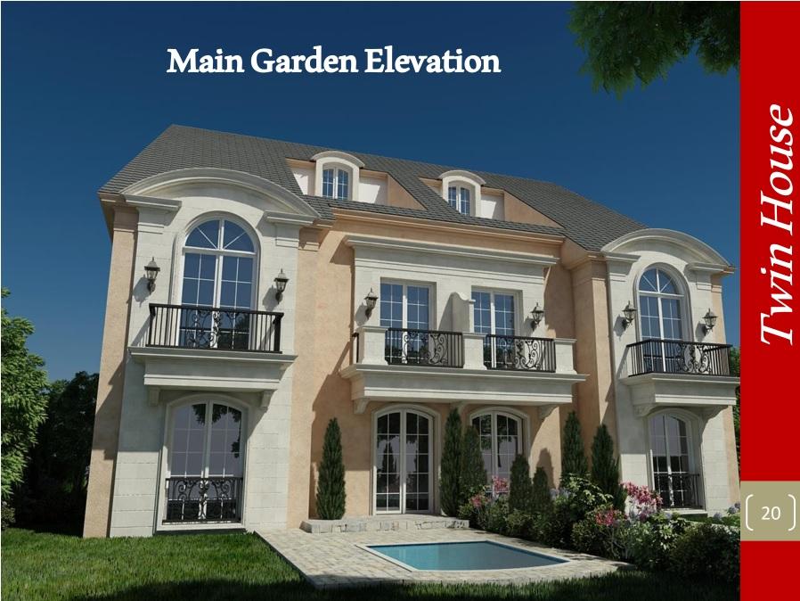 Main Garden Elevation 01