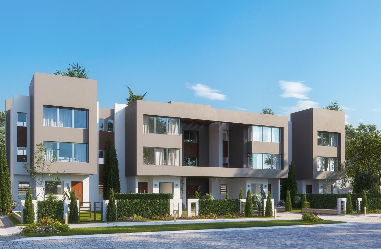 Mansio Villas - Front yard
