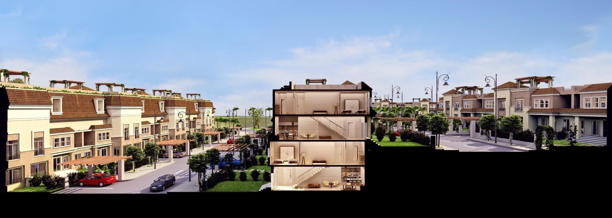 S-villa section