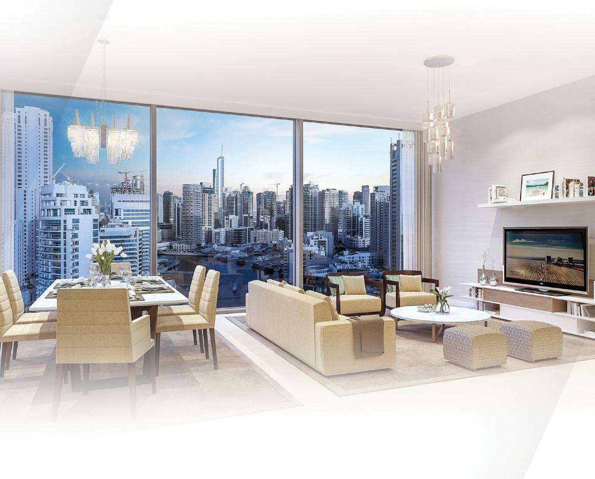 SPACIOUS INTERIORS Fifty Two Forty Two Tower Emaar Dubia