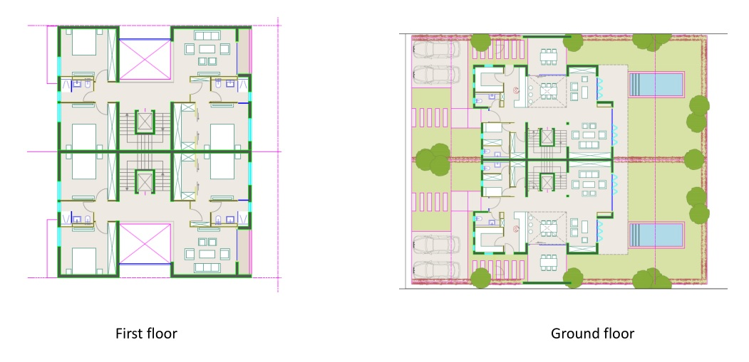 Twin house Large 03