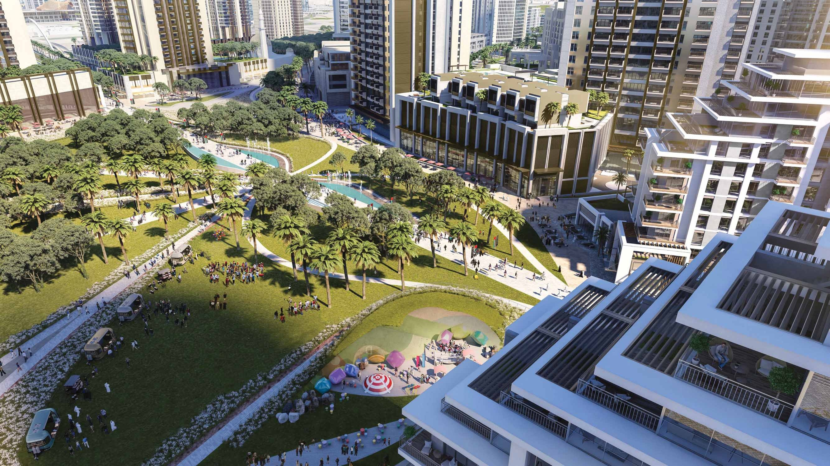 UNWIND IN LUSH GREEN SETTINGS/Island Park I at Dubai Creek Harbour