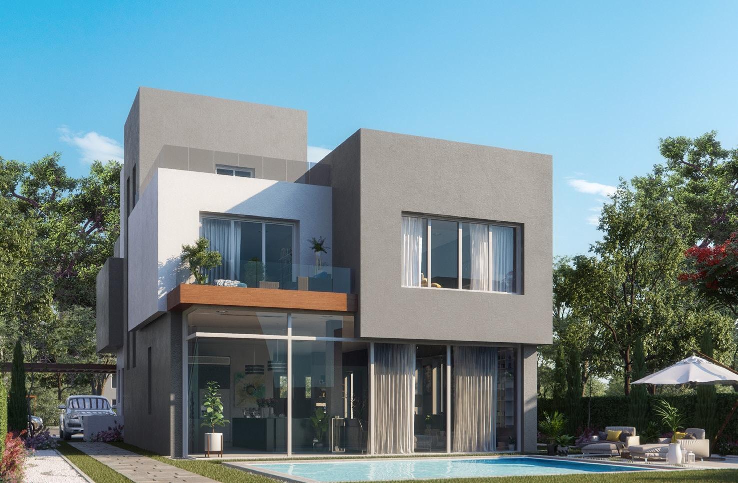 Villa - Back yard