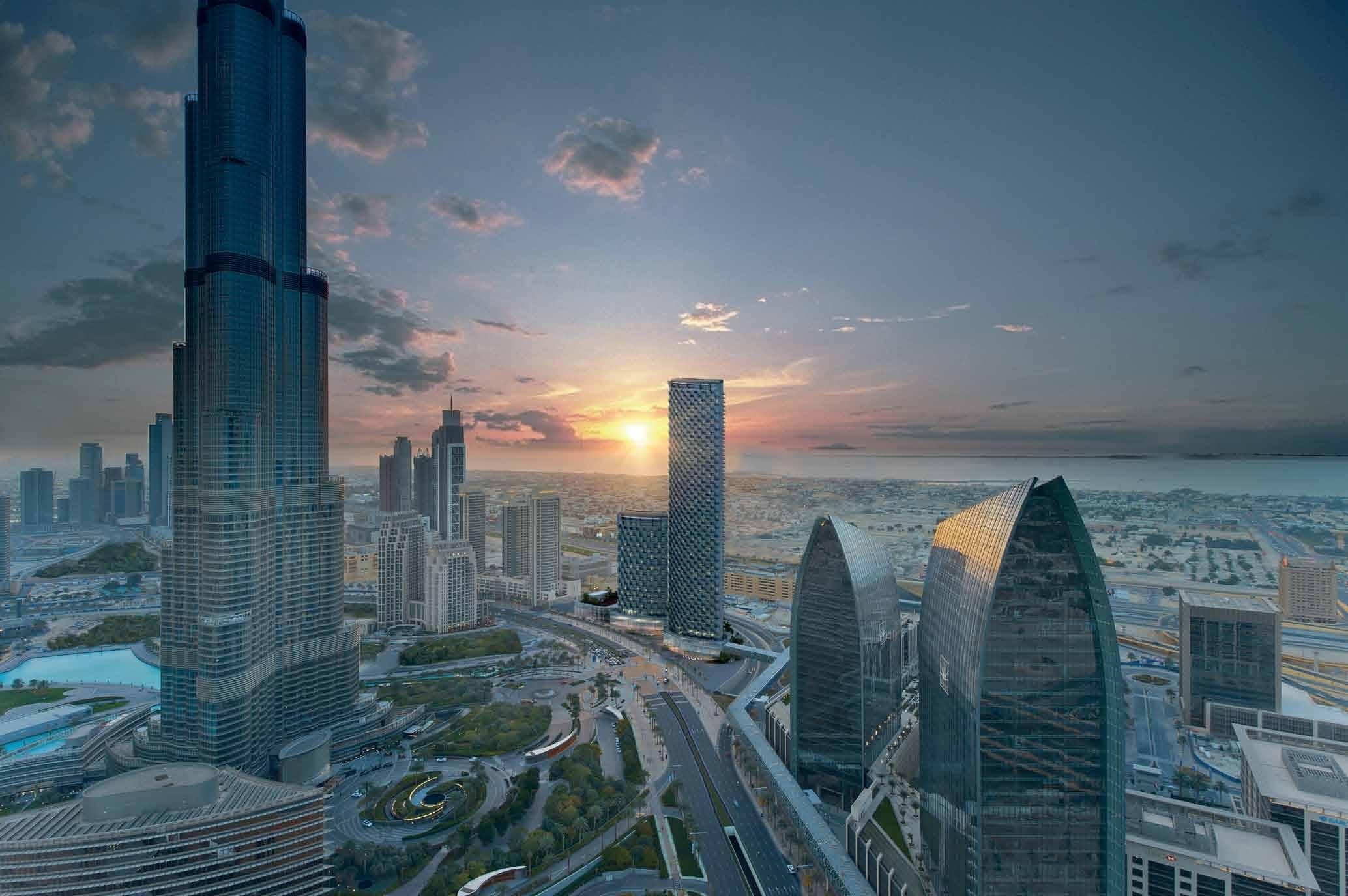 Welcome to a World of Prestige / BURJ VISTA DUBIA