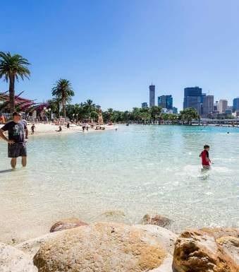 Where the city meets the beach