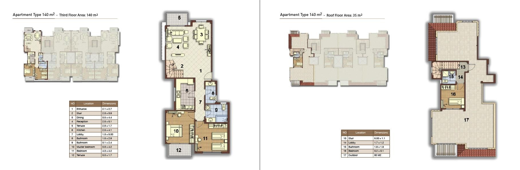 apartment type 140 corner 02