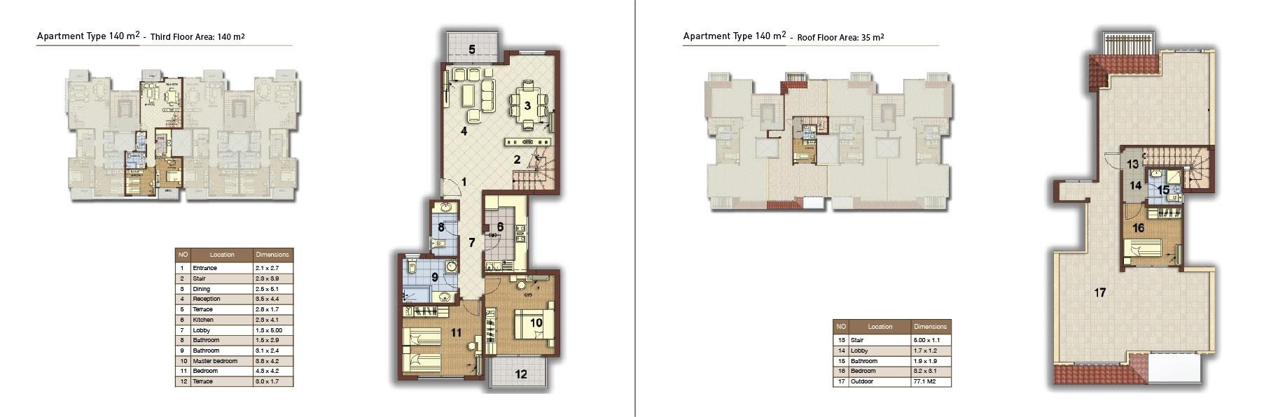 apartment type 140 middle 02