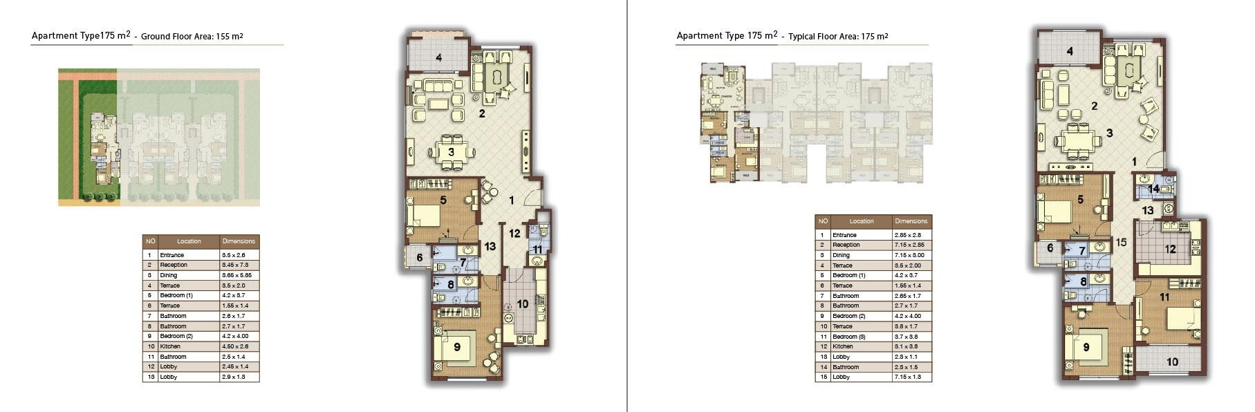 apartment type 175 corner 01