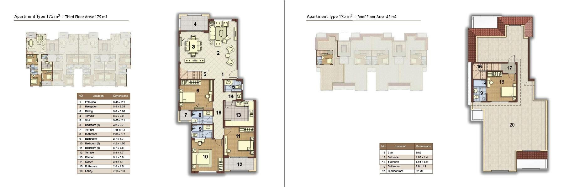 apartment type 175 corner 02