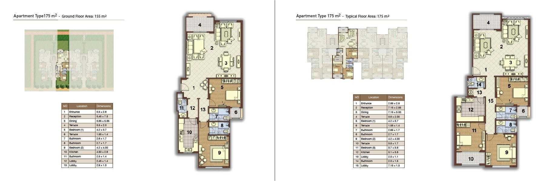 apartment type 175 middle 01