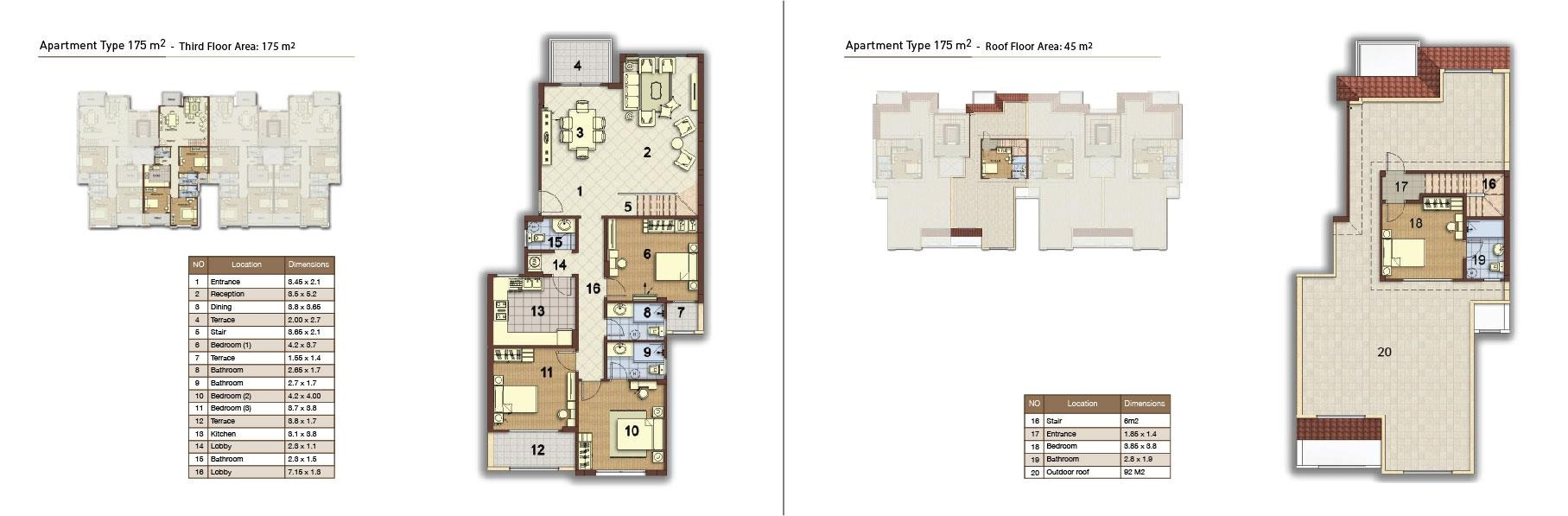 apartment type 175 middle 02