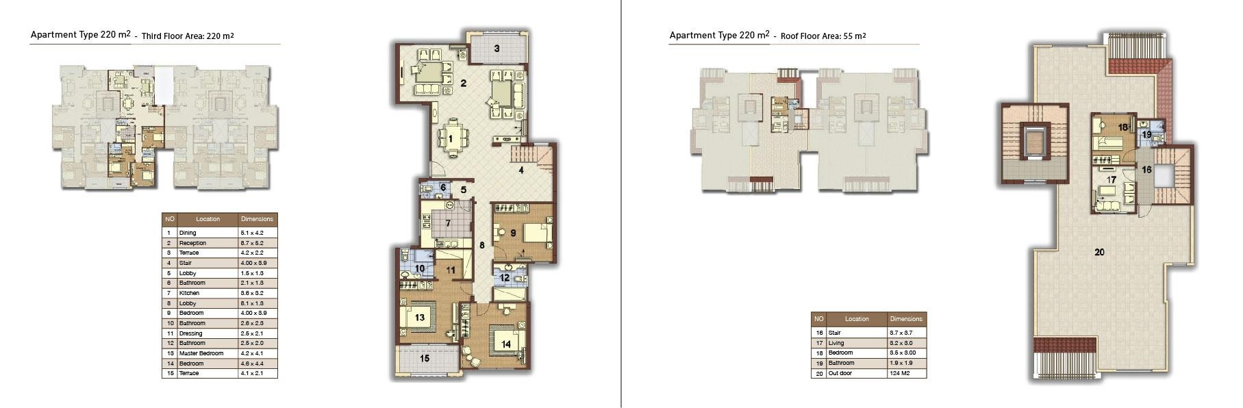apartment type 220 middle 02