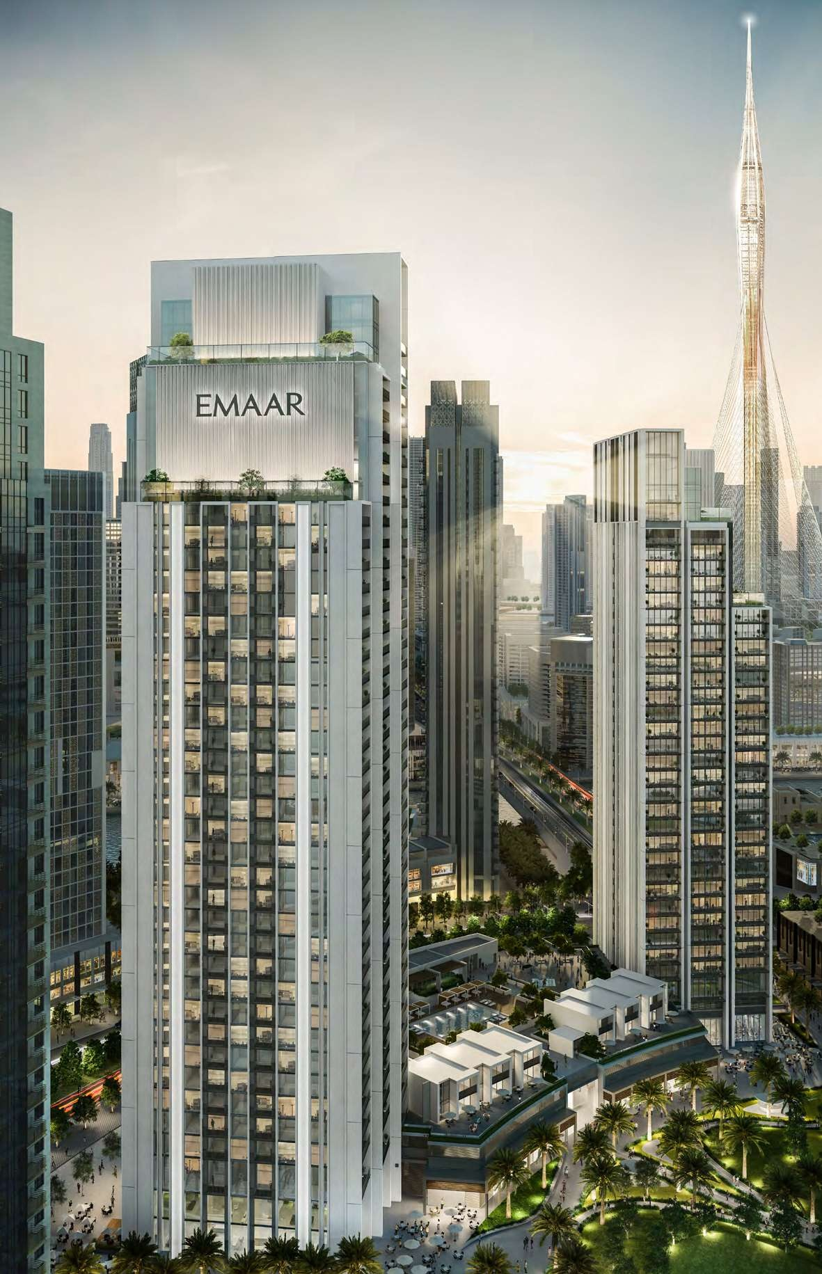 Harbour Gate Tower by Emaar Properties