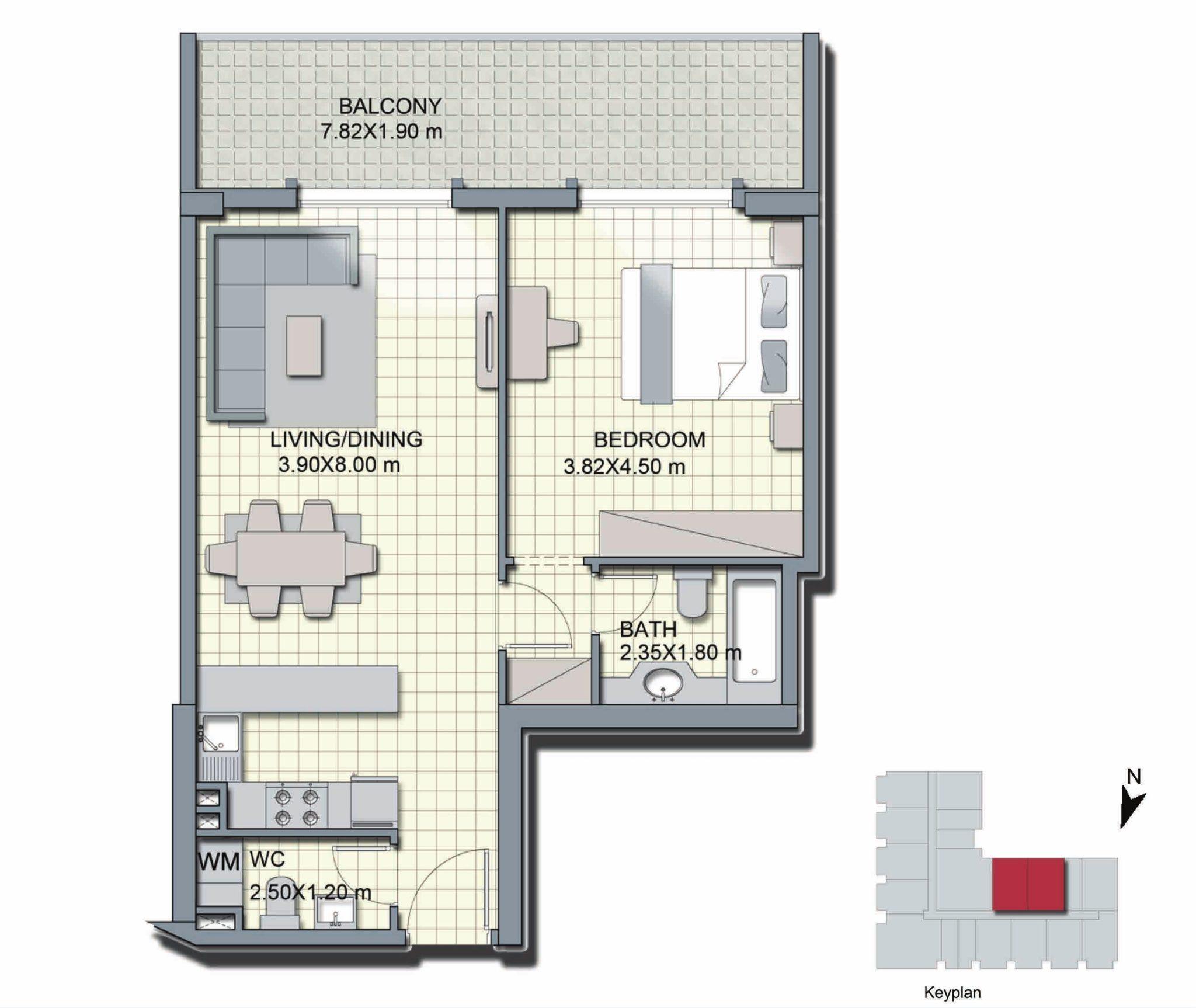1 Bedroom - A3